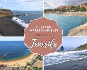 7 playas imprescindibles que ver en Tenerife
