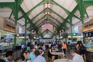 What are the Hawker Centres: the best places to eat in Singapore