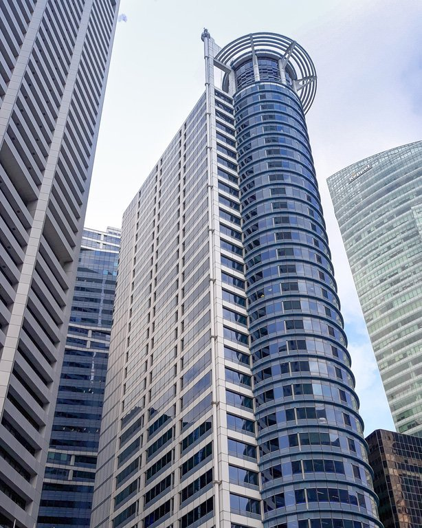 Chevron Tower in Raffles Place Singapore