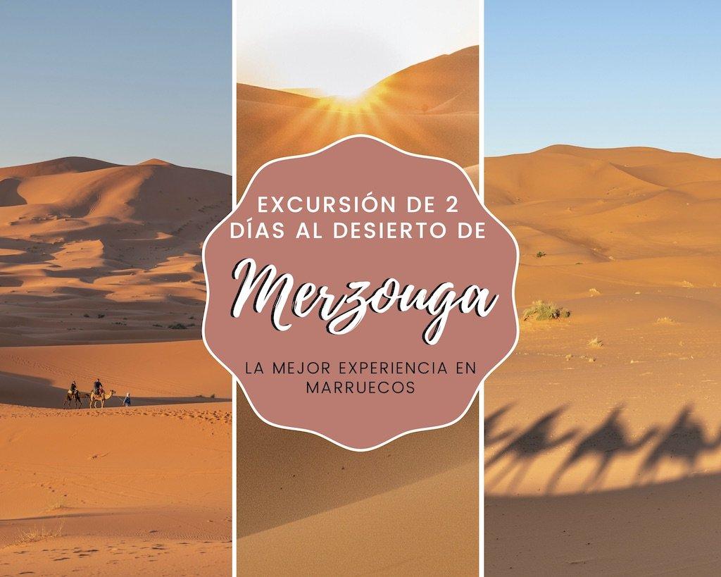 Excursión de 2 días al desierto de Merzouga: la mejor experiencia en Marruecos