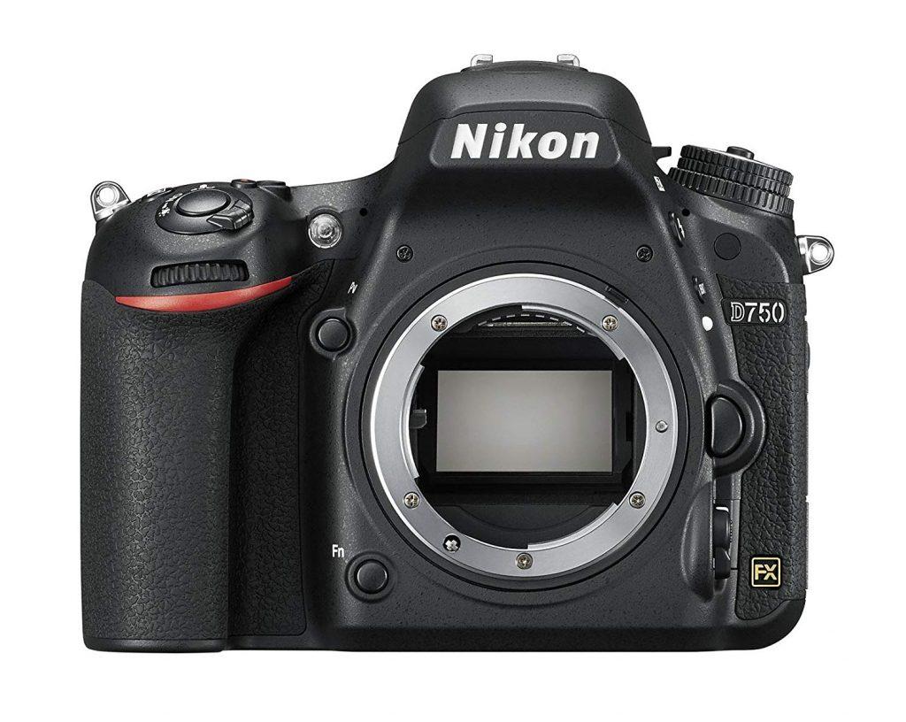 Nikon D750 reflex camera body