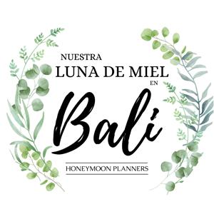 Logo Nuestra luna de miel en Bali