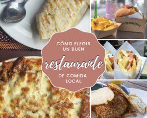 Lee más sobre el artículo Cómo elegir un buen restaurante de comida local