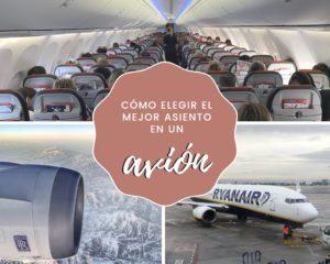 Lee más sobre el artículo Cómo elegir el mejor asiento en un avión