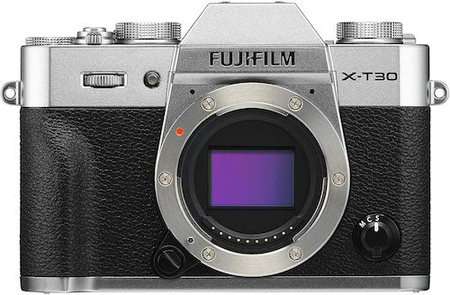 Fujifilm X-T30 camera body without lens