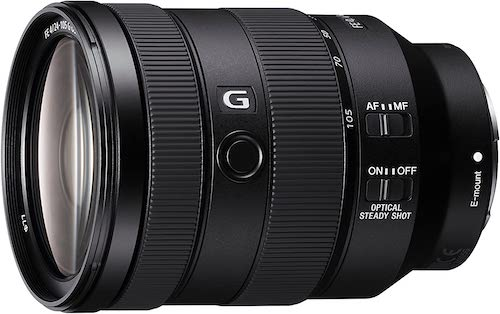 Sony SEL 24-105mm G SYX lens