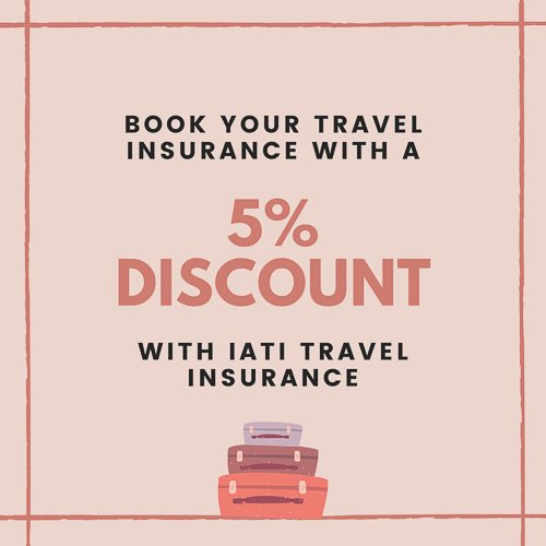 Travel insurance with 5% discount