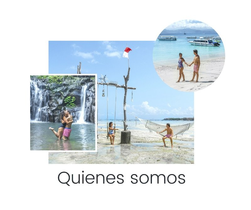 Collage quienes somos We Collect Postcards
