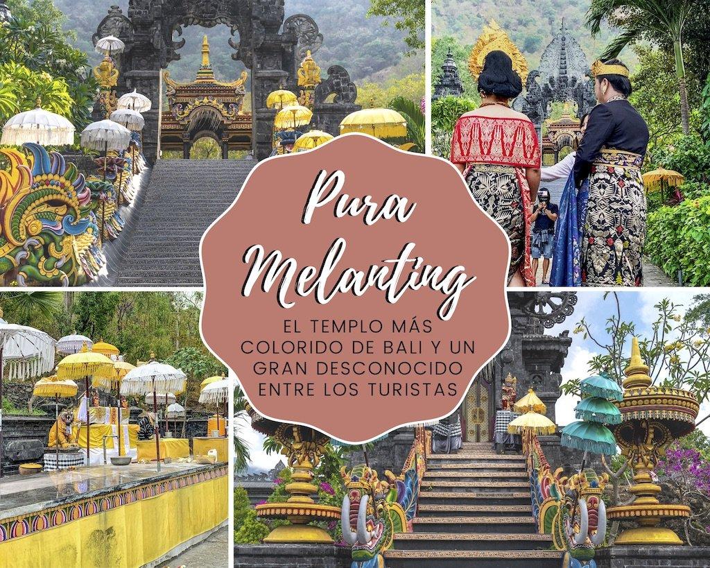 Pura Melanting: el templo más colorido de Bali y un gran desconocido entre los turistas