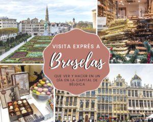 Visita exprés a Bruselas: qué ver y hacer en un día en la capital de Bélgica