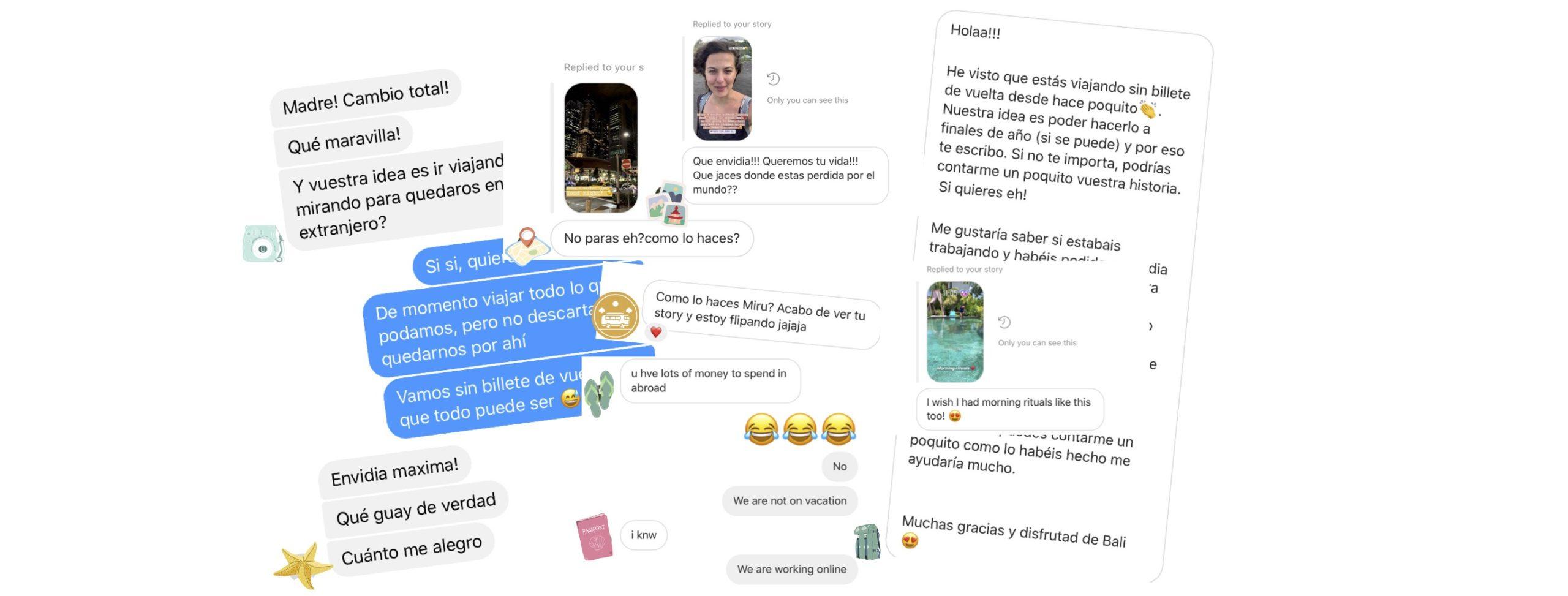 Comentarios redes sociales We Collect Postcards