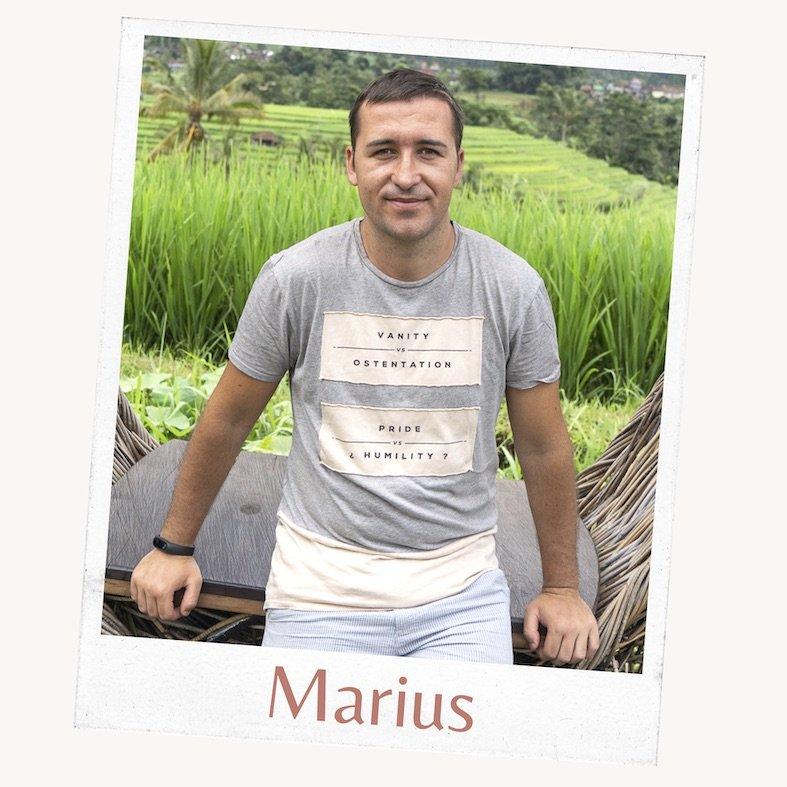 Marius de We Collect Postcards