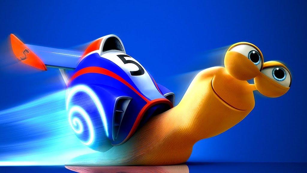 Imagen del personaje de animación Turbo