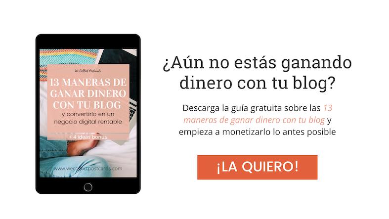 Banner descarga la guía gratuita sobre las 13 maneras de ganar dinero con tu blog