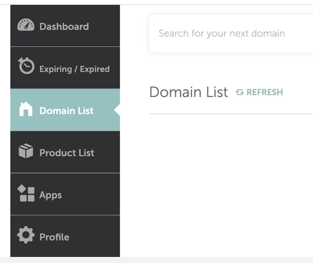 Lista dominios Namecheap
