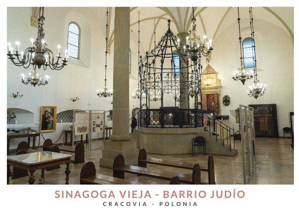 Stara Synagoga, la sinagoga vieja del barrio judío de Cracovia