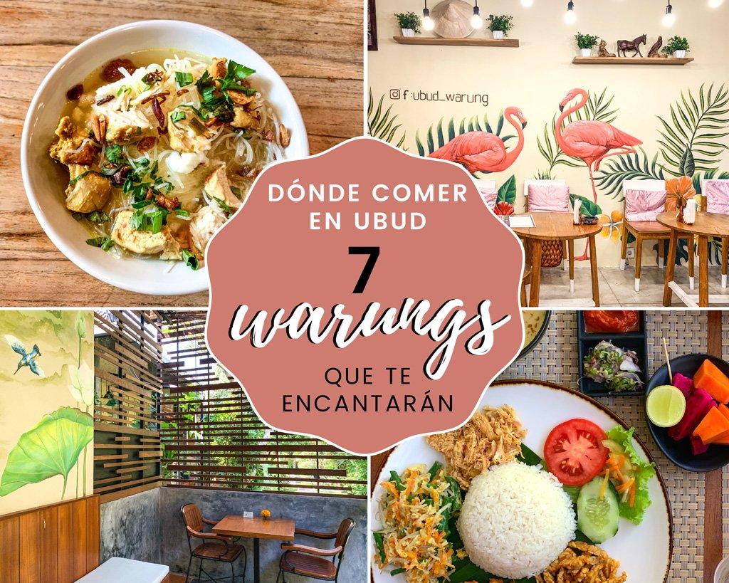 Dónde comer en Ubud: 7 warungs que te encantarán