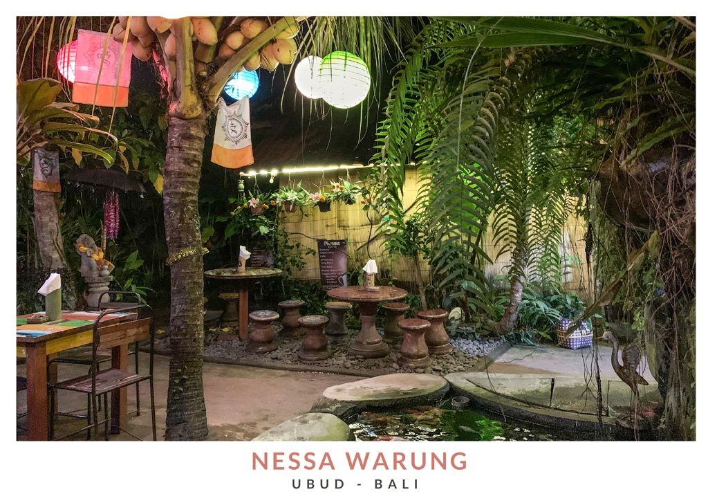 Restaurante balinés Nessa Warung en Ubud