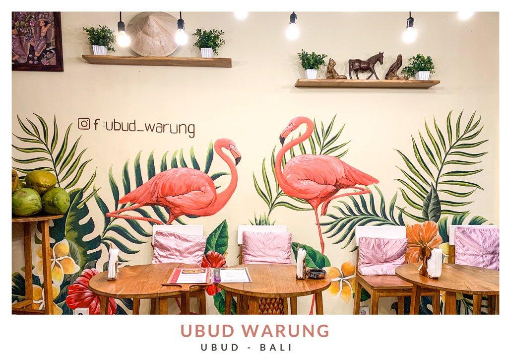 Restaurante balinés Ubud Warung