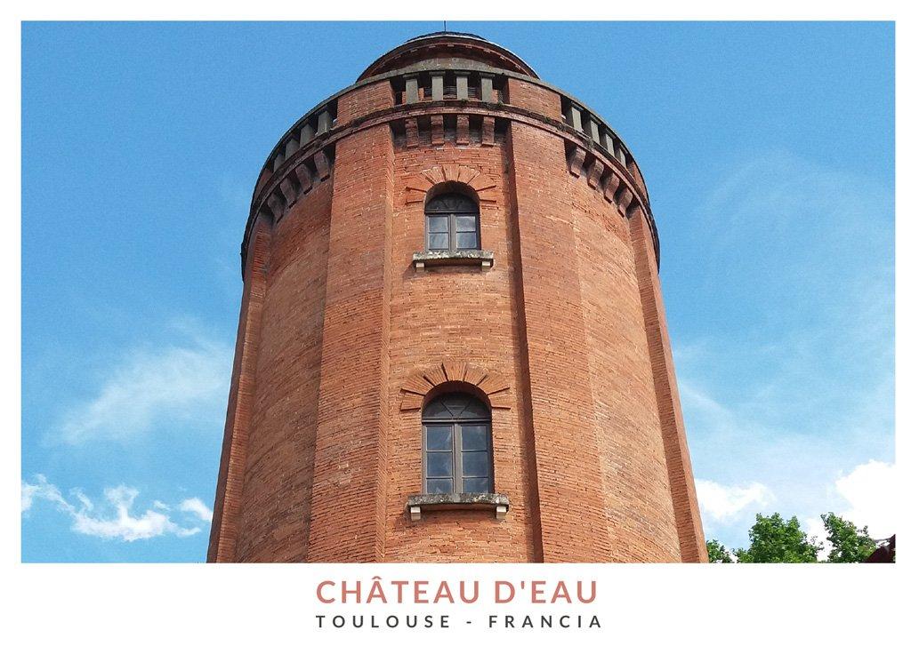 Château d'Eau, torre de agua que alberga exposiciones fotográficas en Toulouse