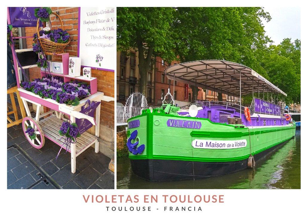 Maison de la Violette y Les Trésors de Violette, dos tiendas de souvenir en Toulouse