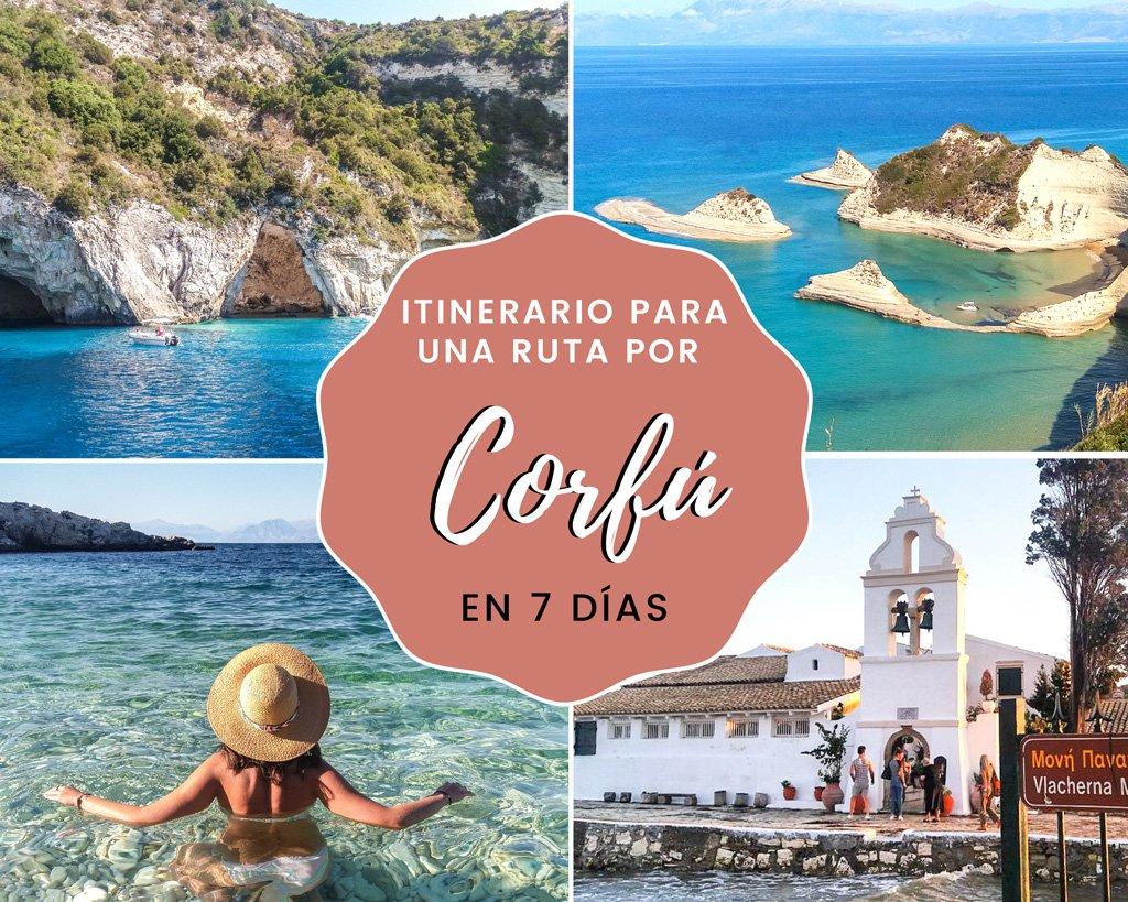 Lee más sobre el artículo Itinerario para una ruta por Corfú en 7 días + Mapa