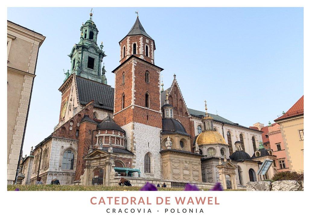 Impresionantes vistas de la Catedral de Wawel en Cracovia, Polonia