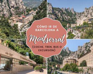 Lee más sobre el artículo Cómo ir de Barcelona a Montserrat (coche, tren, bus o excursión)