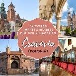 12 cosas imprescindibles que ver y hacer en Cracovia (Polonia)