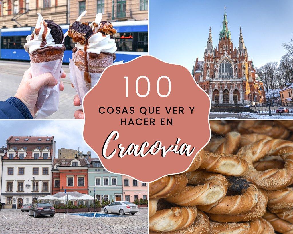 En este momento estás viendo 100 cosas que ver y hacer en Cracovia