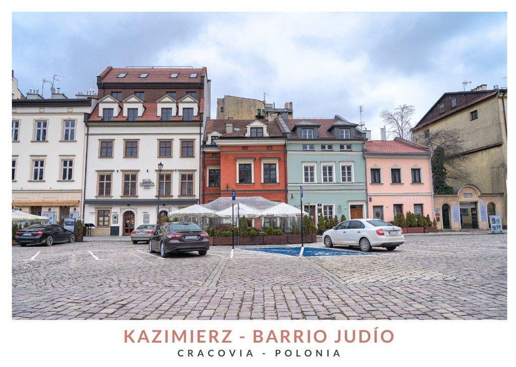 Barrio judío llamado Kazimierz en Cracovia
