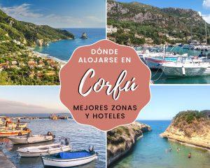 Lee más sobre el artículo Dónde alojarse en Corfú: mejores zonas y hoteles