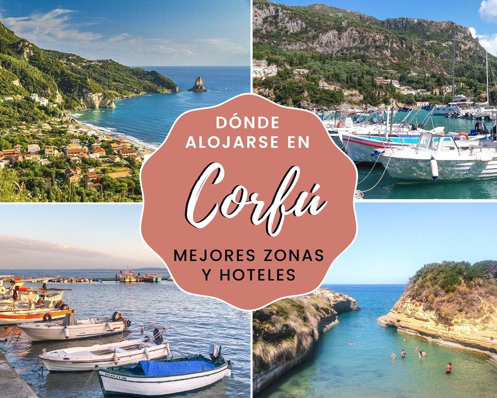 En este momento estás viendo Dónde alojarse en Corfú: mejores zonas y hoteles