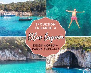 Lee más sobre el artículo Excursión en barco a Blue Lagoon desde Corfú + Parga (Grecia)