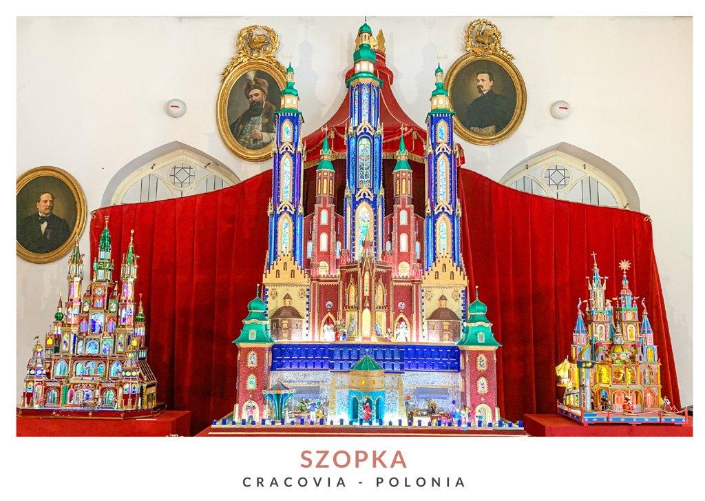 Belen tradicional de Cracovia llamado Szopka