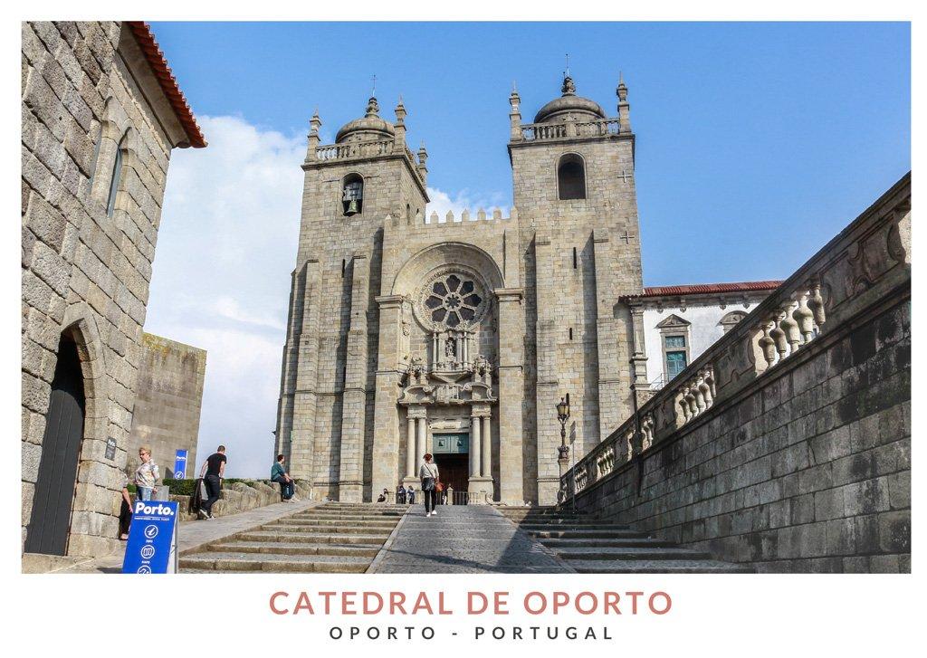 Catedral de la Sé de Oporto, Portugal