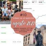 Cómo va lo nuestro #10: Agosto 2021 – Hemos ganado 277,11€ con el marketing de afiliados